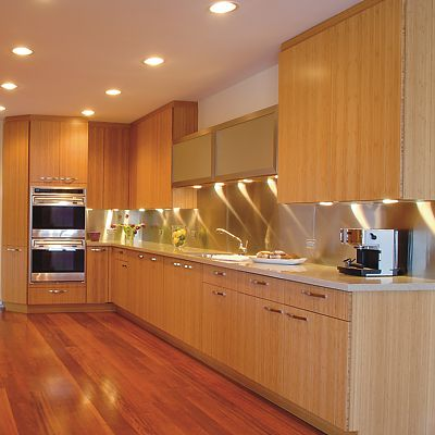 Corsi custom cabinetry, bamboo kitchen cabinetry