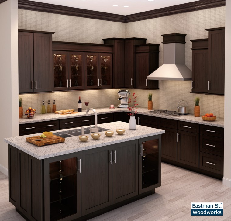 Dynasty Omega Kitchen Cabinets: Eastman St. Woodworks