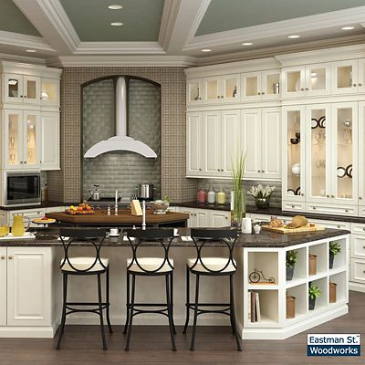 Eastman St. Woodworks kitchen cabinets