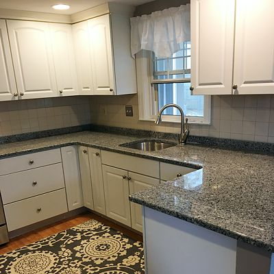 Granite countertop - customer testimonial, view 1