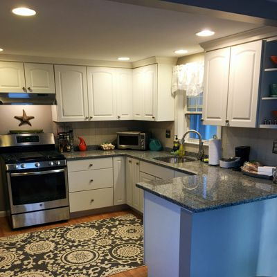 Granite countertop - customer testimonial, view 2