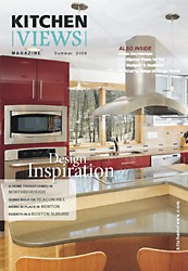 Spring 2009 Kitchen Views Magazine cover