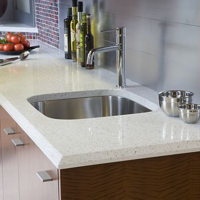 IceStone countertop in Kitchen Views vignette