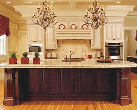 Traditional Kitchen Designed By The Kitchen Views Design Team.