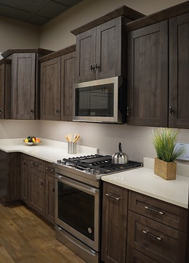 Herra Kitchen Schrock Cabinets Views Showroom