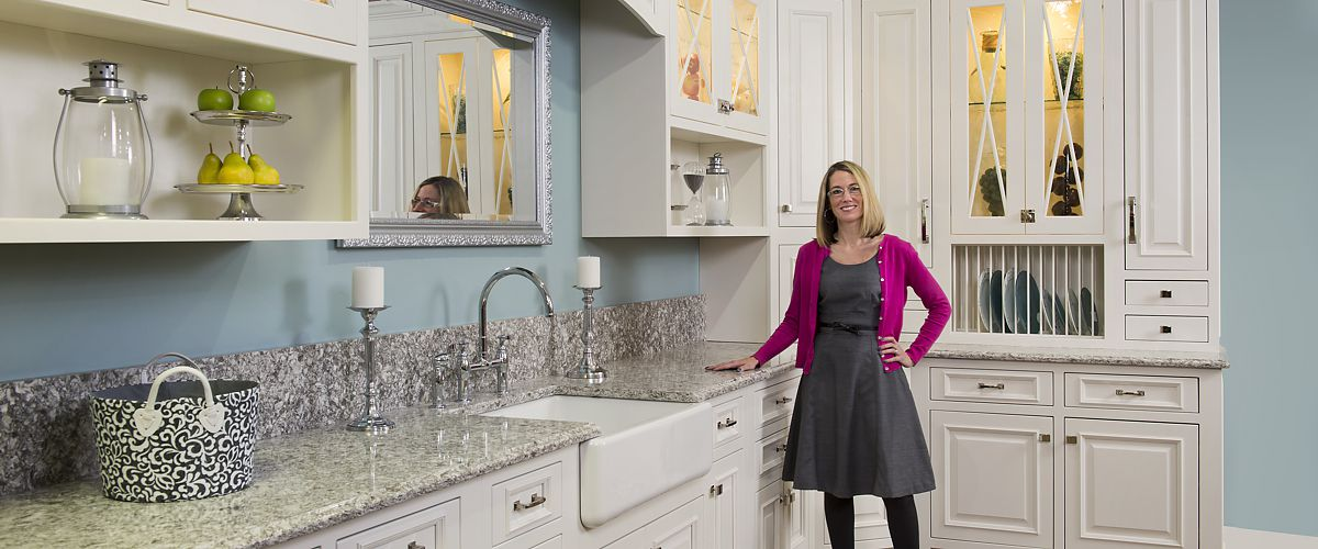 Brandy Souza Of Kitchen Views In Mansfield, MA Showroom