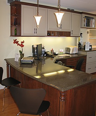 Dynasty Office Cabinets | Kitchen Views Showroom, Berlin, MA