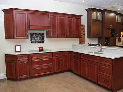 Wolf Classic Kitchen Cabinets At The Kitchen Views Showroom In Mansfield MA.