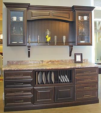 Princeton Hutch Eastman St Woodworks Cabinets Kitchen