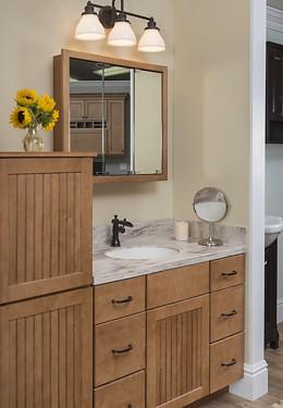 Schrock trademark bathroom vanities kitchen views for Bobs furniture bathroom vanity