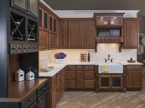 Schrock Trademark Cabinets | Kitchen Views Showroom, Oxford, CT