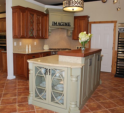 Omega Dynasty Kitchen Cabinets | Kitchen Views Showroom ...