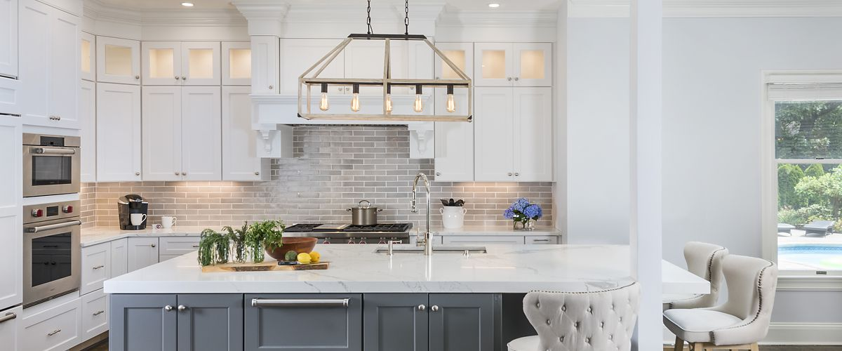 Canton, MA kitchen designed by Lisa Zompa