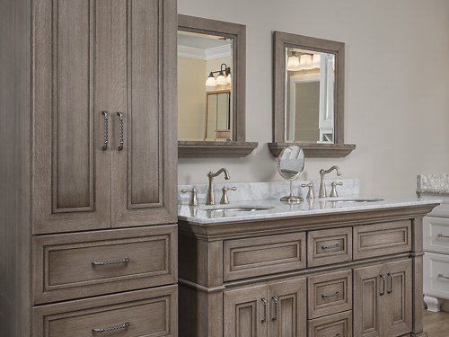 Omega Bath, Plantation Collection, Loring Bathroom Vanity Vignette At  Kitchen Views, 113 Oxford Part 97