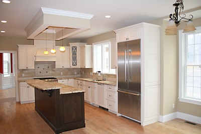 New kitchen in Newton, MA designed by Jim Marrazzo