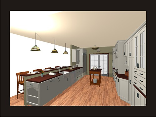 Visualize How Finished Rooms Will Look 20 Sample Renderings Designed By Amy  Mood Kitchen Views