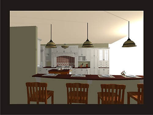 20 20 Sample Renderings Designed By Amy Mood Kitchen Views
