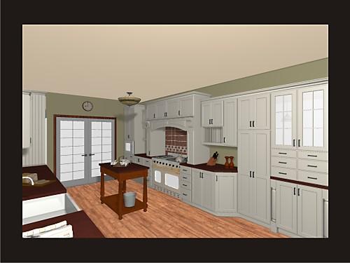 sample renderings designed  amy mood kitchen views