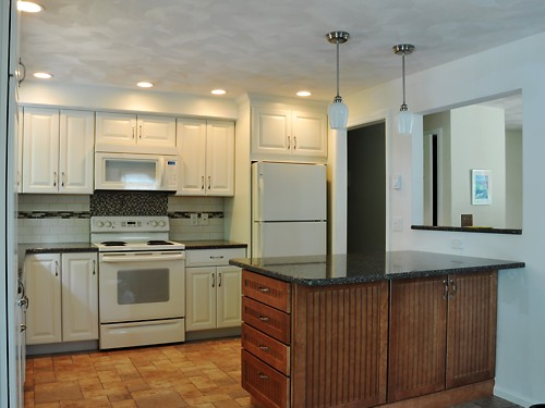 North Attleboro, MA kitchen designed by Amy Mood, view #2