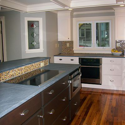 North Attleboro, MA kitchen designed by Amy Mood