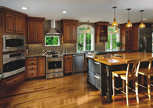 There Is Room To Grow In This Expanded Kitchen Space Designed With Schrock  Cabinets