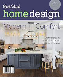 cover of 2018 Rhode Island Home Design issue