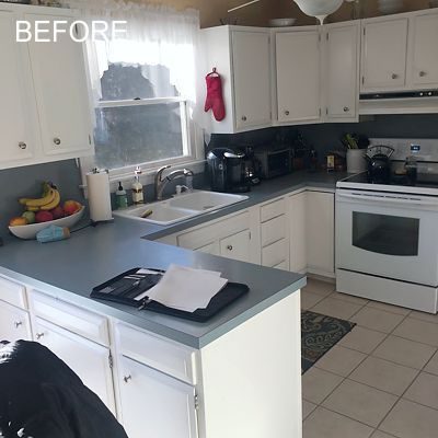 Before - Kitchen in South Kingstown, RI