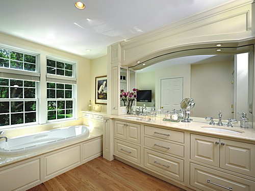 Collaborative Bathroom Vanity on the South Coast of Massachusetts designed by Brandy Souza