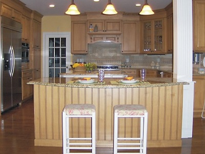 Saunderstown, RI kitchen designed by Jamie Thibeault