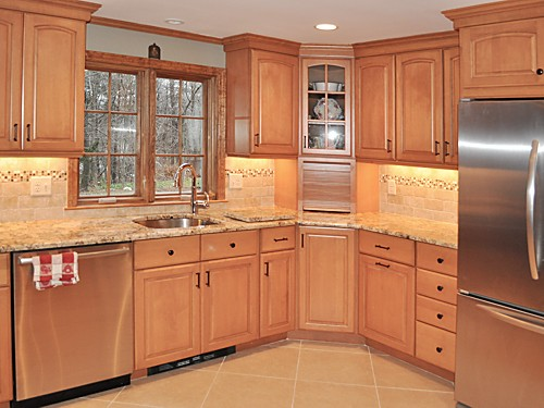Walpole, MA kitchen remodel designed by Jamie Thibeault