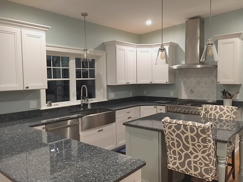Wrentham, MA kitchen designed by Jamie Thibeault