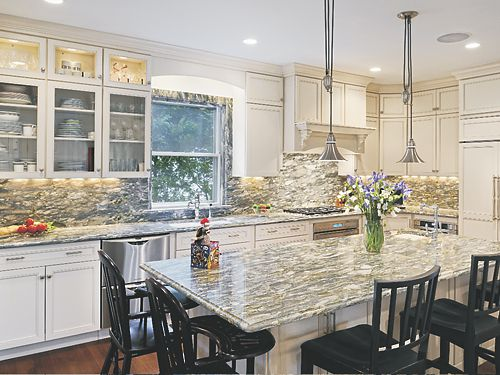 A Family Affair kitchen remodel in Newton, MA