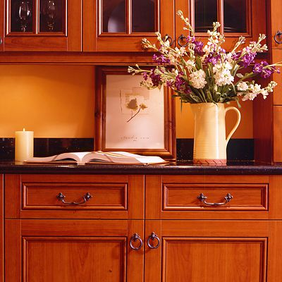 Ultracraft Tuscany Cherry Cabinets
