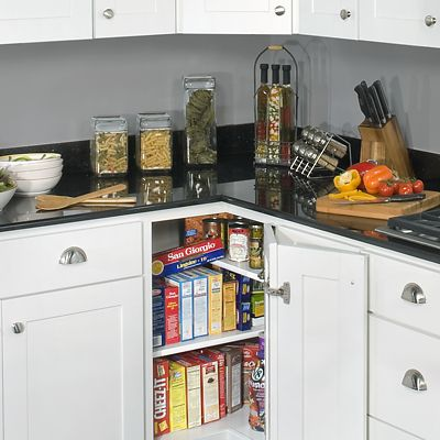 Wolf Cabinetry, base corner cabinet storage option