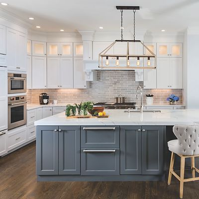 Canton, RI Kitchen Designed By Lisa Zompa