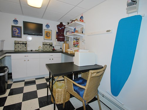 Pawtucket, Rhode Island laundry room designed by Lisa Zompa